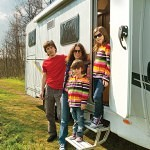 caravan camping tourer north wales